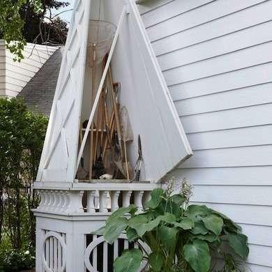https www.hometourseries.com garage-storage-ideas-makeover-302 - 25 best Yard tool storage ideas on Pinterest