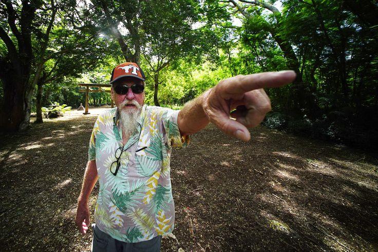 don Farrell local historian tinian island.