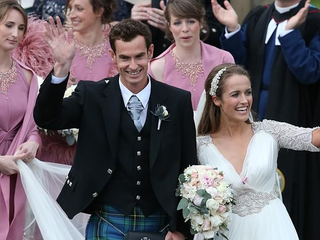 Andy Murray remains unbeaten after marriage to long-term girlfriend Kim Sears