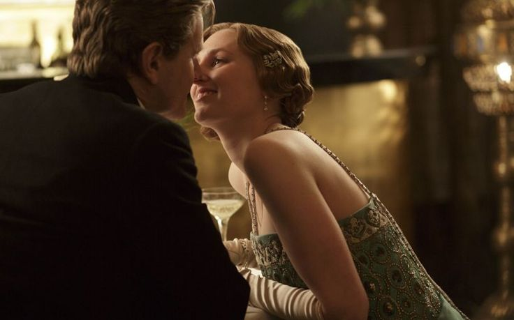 Michael Gregson and Lady Edith