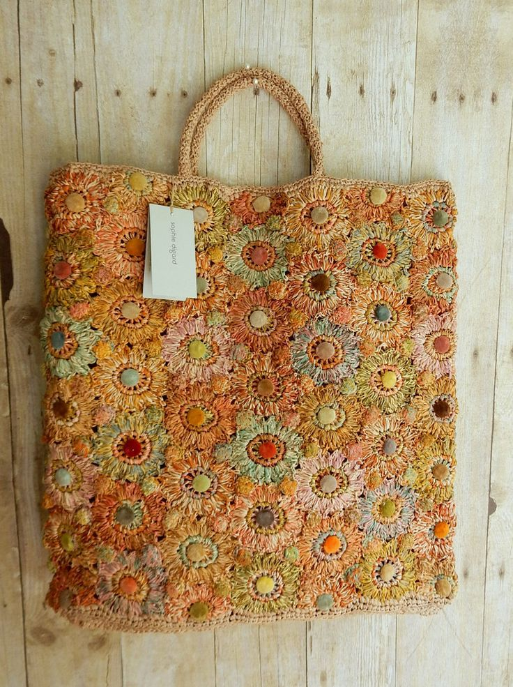 """""""Fleur Velvet"""" raffia tote by Sophie Digard - sold out - 17 x 16  inches with three inch gussett tote bag, unlined with one interior pocket.  Raffia and velvet and fabulous."""