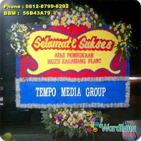 Bunga Papan Selamat Sukses SS854WF