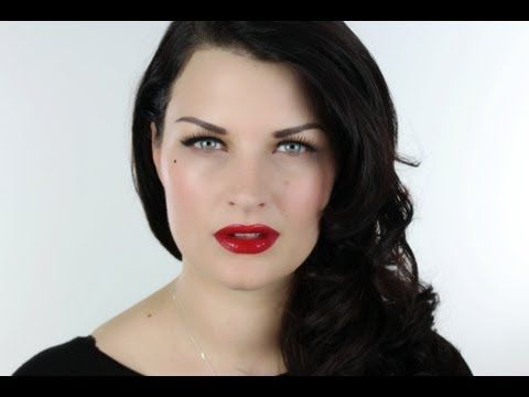 10 Minute Make-up. Dita Von Teese 50's Glamour