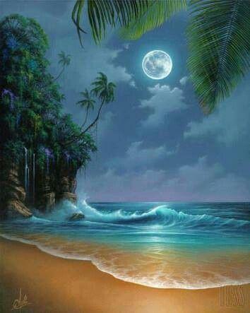 Beautiful Beach ...art