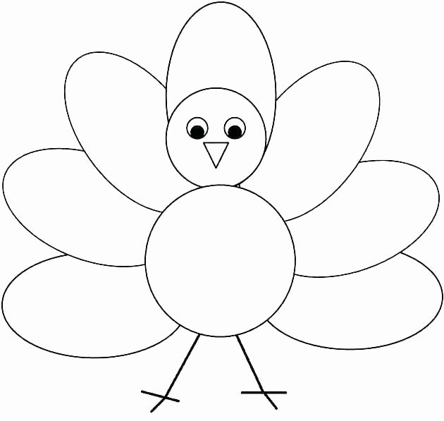 Easy Thanksgiving Pictures To Color Designs Collections