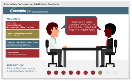 Free PowerPoint Template: Conversation Interaction | The Rapid E-Learning Blog
