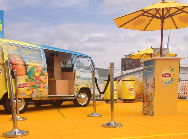 VW Camper Photobooth Brand Activation - Buttercup Bus