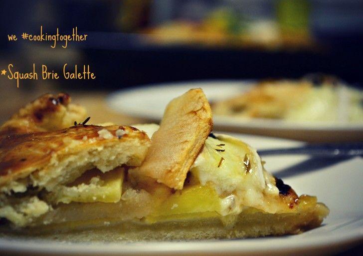Συνταγή Galette με Κολοκύθα, Μήλο και Τυρί Μπρι - Συνταγές μαγειρικής , συνταγές με γλυκά και εύκολες συνταγές από το Funky Cook