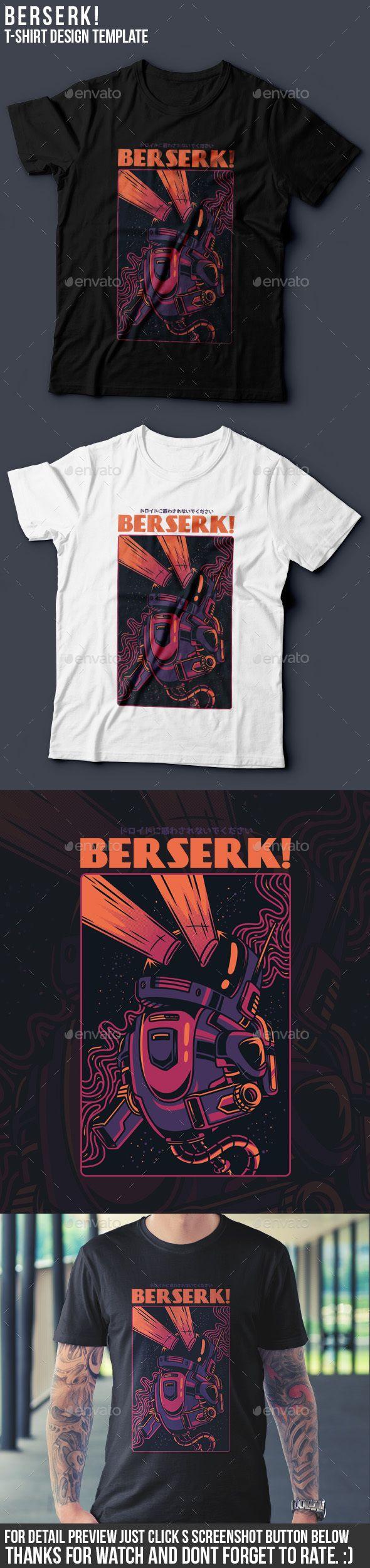 Berserk! T-Shirt Design - Events T-Shirts