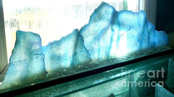 Iceberg by Rick Silas - Iceberg Sculpture - Fine Art Prints and Posters for Sale