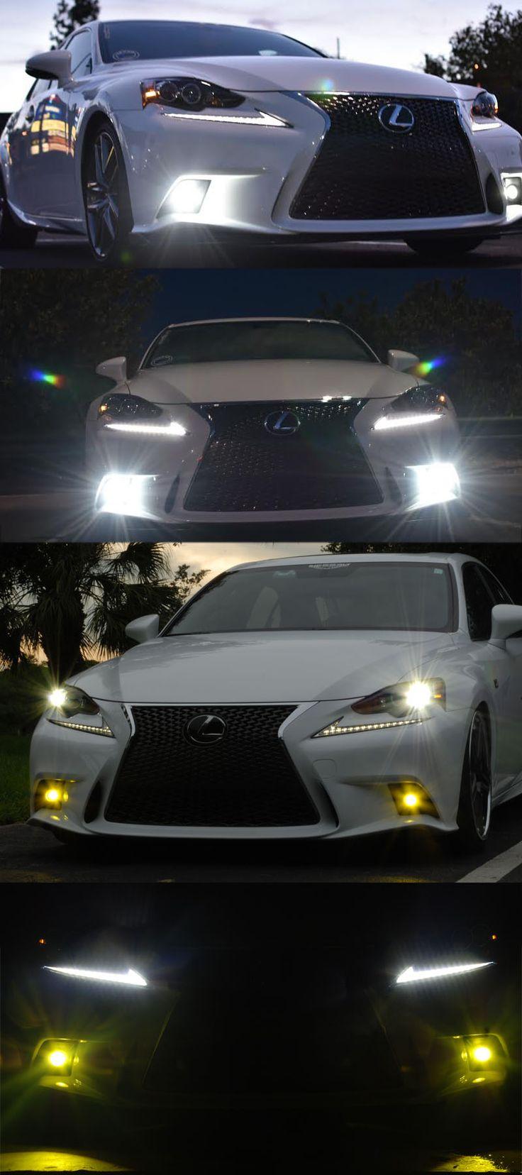 2014-up Lexus IS F-Sport LED fog lights www.newportlexus.com