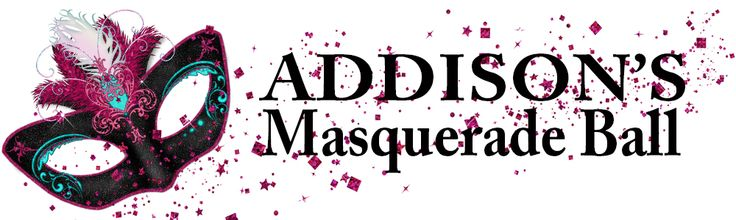Masquerade Ball Party Personalised Banners - We Print Your Text
