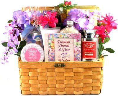 Feliz Navidad Spanish Theme Gourmet Gift Basket for Mom  Womens Gift Basket for Her *** Want additional info? Click on the image.