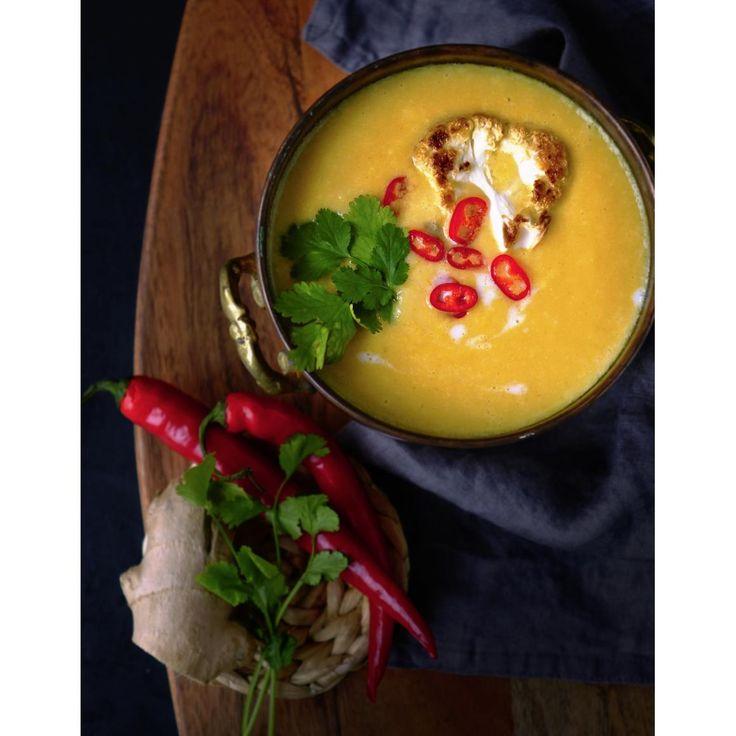Exotická květáková polévka   Coolinářka