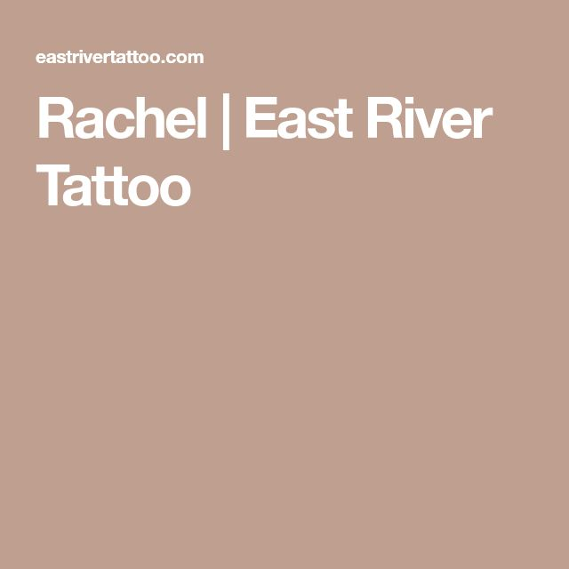 Rachel | East River Tattoo