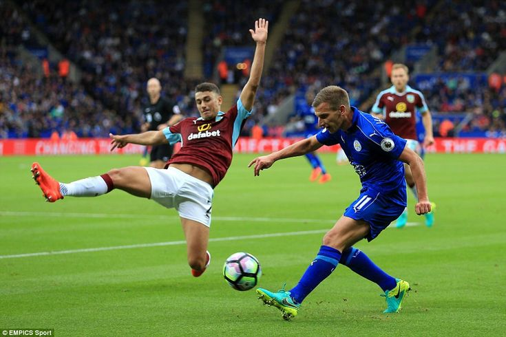Marc Albrighton became the Foxes' first goalscorer in the Champions League on Tuesday and played well on the left again