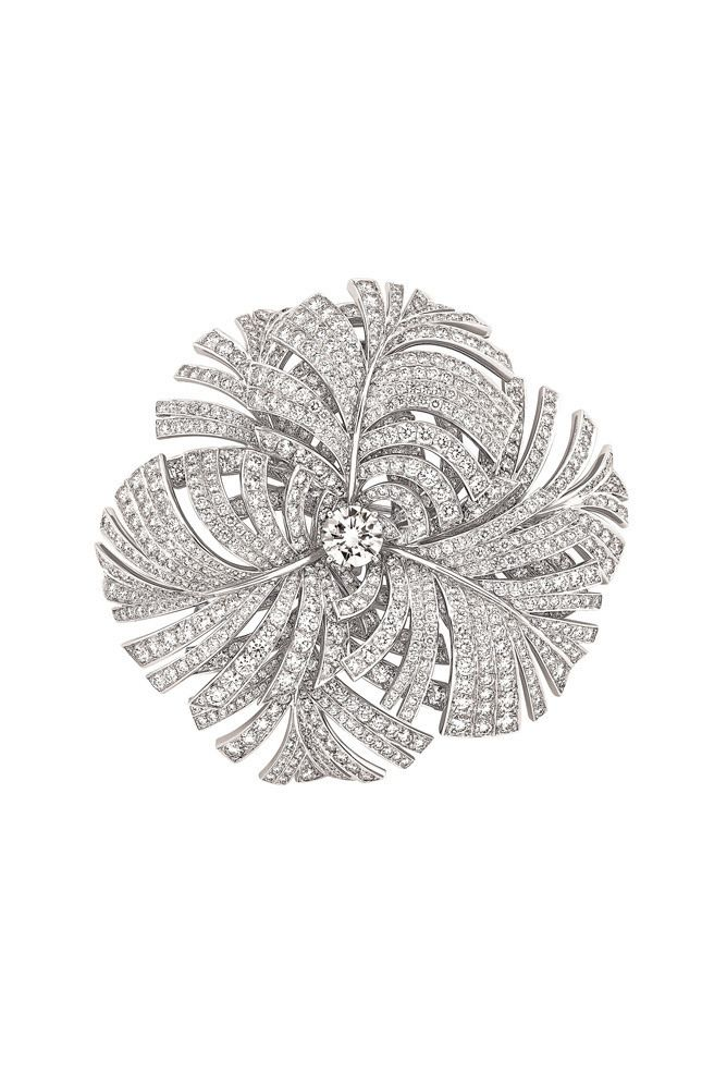Chanel Resort 2015 Collection Brooch in white gold and diamonds
