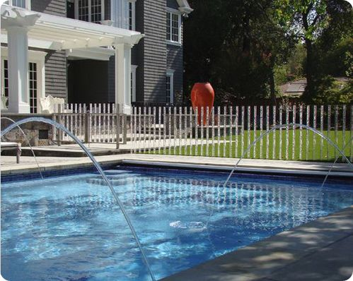 1000 images about pool fences on pinterest fence design for Pool fence designs