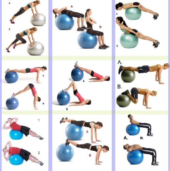 Exercices simples à faire avec votre Swiss Ball !