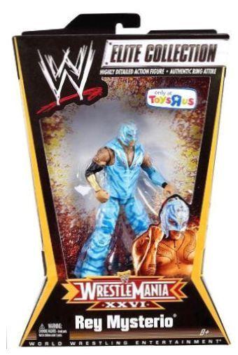 Mattel 0027084827347 WWE Elite Exclusive Wrestle Mania XXVI Rey Mysterio Action in Toys & Hobbies, Action Figures, Sports | eBay