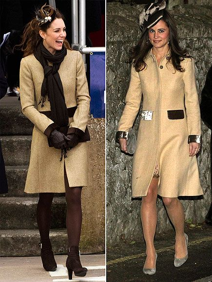 Pippa And Kate Middleton Style