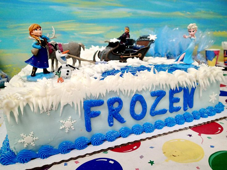 This Frozen Birthday Cake Looks Too Perfect To Eat It