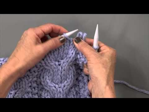Watch @Vickie Howell as she teaches you how to knit a cable without a cable needle, without a needle at all! As seen on Knitting Daily TV episode #1201