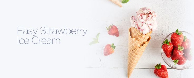 Learn how to make this easy strawberry ice cream recipe by Dairyland