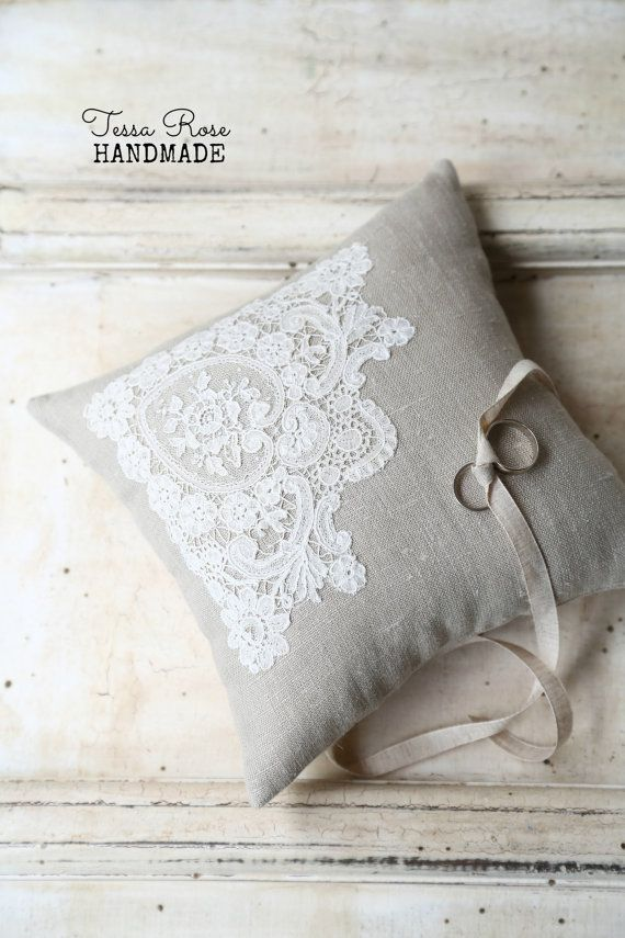 Parisian Antique Hand Tatted Lace & Linen by TessaRoseHandmade