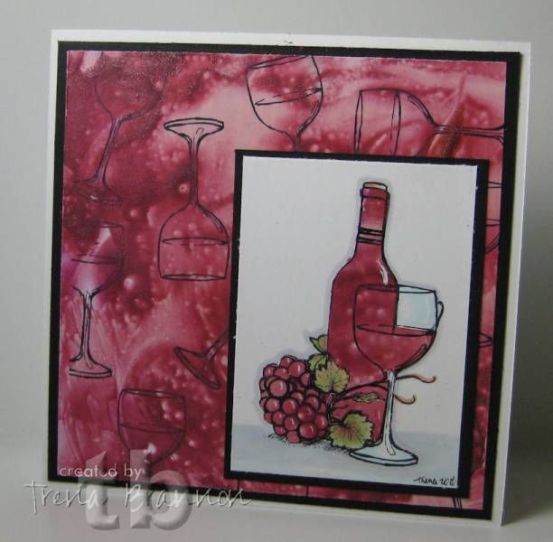 Wax Wine by tlynn - Cards and Paper Crafts at Splitcoaststampers