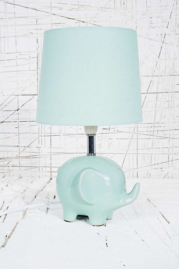 This precious little lamp. | 32 Things Every Elephant Lover Needs In Their Life