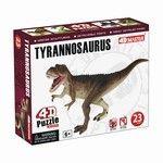 4D Master 3D Hand Painted Tyrannosaurs Rex Dinosaur Toy Model Puzzle - 4D Master 3D Hand Painted Tyrannosaurs Rex Dinosaur Toy Model www.DinosaurToysSuperstore.com