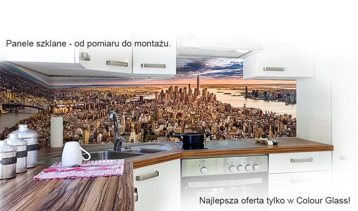 Colour Glass - szklane panele kuchenne - panele-szklane.pl