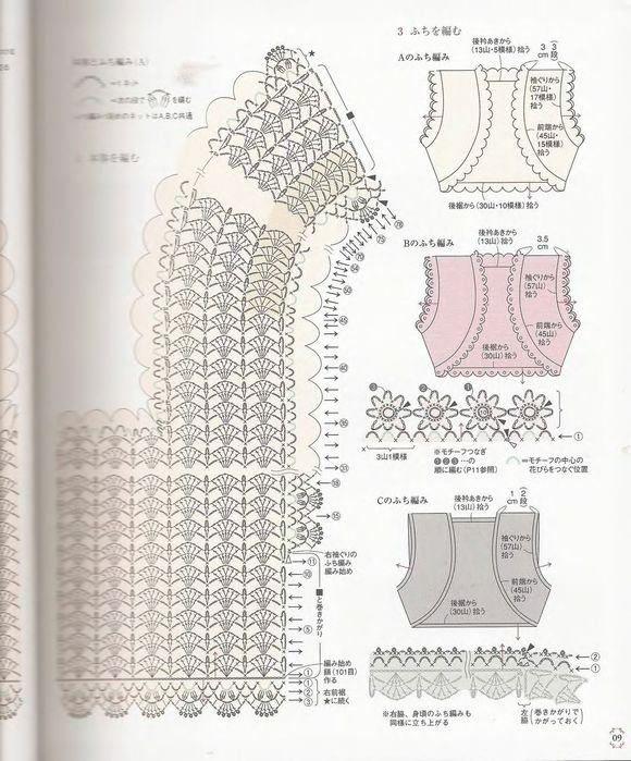 Mejores 416 imágenes de blusas caladas en Pinterest | Patrones de ...
