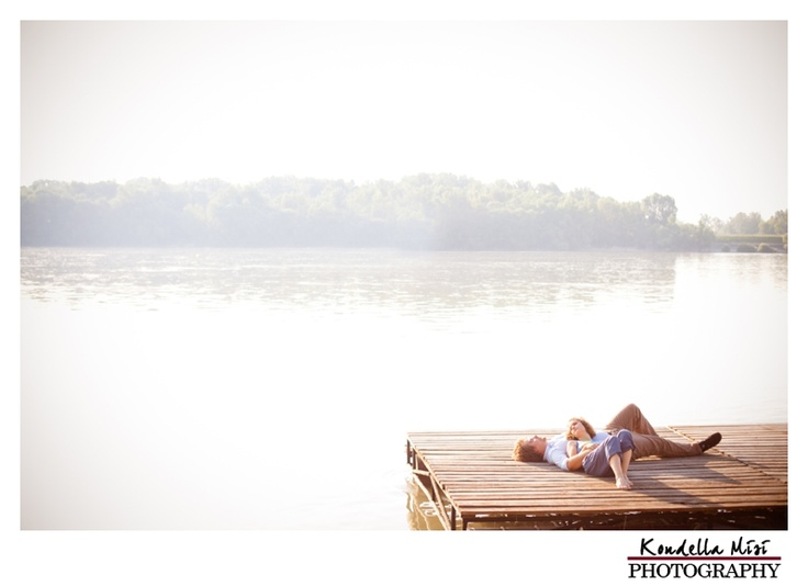 Budapest engagement session and love photography in spring time at sunrise with river Danube on a dock