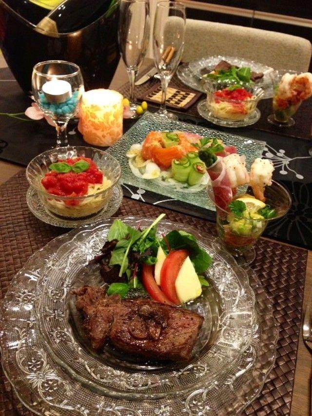 旦那様が喜ぶお家レストラン 牛ステーキ レシピ 料理 レシピ 食べ物のアイデア
