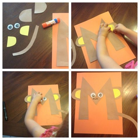 Arts And Crafts For Letter Mm