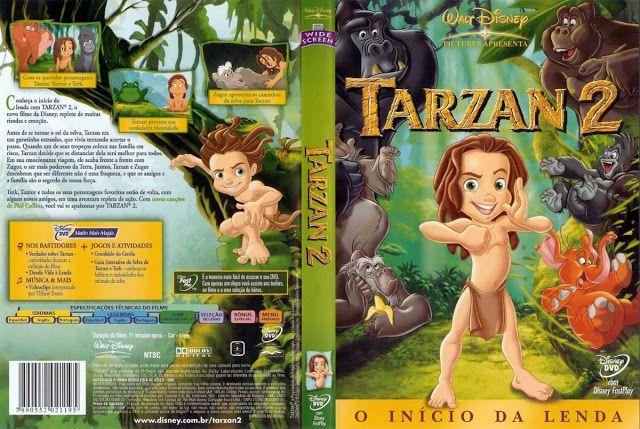 Tarzan 2 O Inicio Da Lenda 2005 Completo Tarzan Desenhos