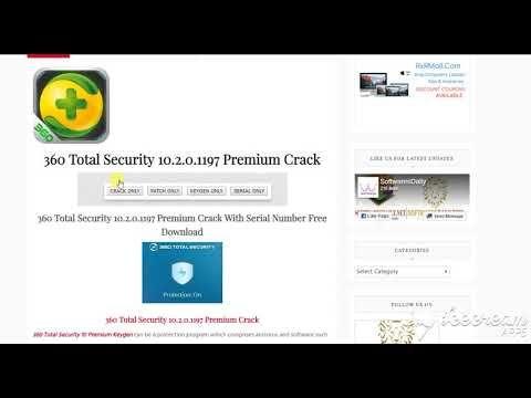 360 Total Security 10 2 0 1197 Premium Crack With Serial
