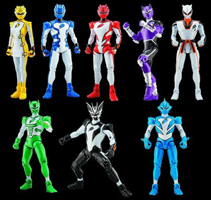 Toy Guide Power Rangers Jungle Fury - Summer 08 Toys | Power Rangers Central