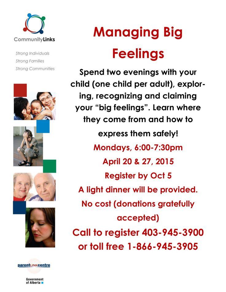 Managing Big Feelings