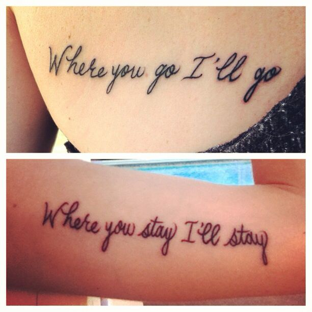 Sister tattoo | Tattoos | Pinterest | Sisters, Sweet and ...