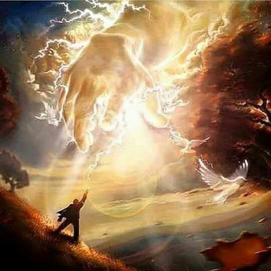 Hand of God...the arm of the Lord is not short...