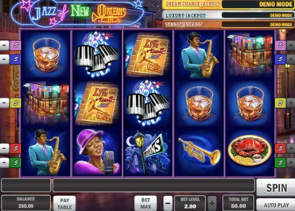 Jazz Of New Orleans | Jazz, Casino, Slots games