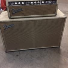 SUPER RARE!!!Unmolested 1963 Fender Showman Amp! Beautifully aged Blonde tolex on this vintage beauty. Original transformers and caps! You don't see them like this too much anymore.This has the coveted 125A4A transformer, also known as the Dick Dale transformer. Sounds amazing! This is the Surf G...