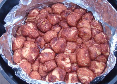 Campfire Cinnamon Sugar Monkey Bread, plus TONS of other great ideas for
