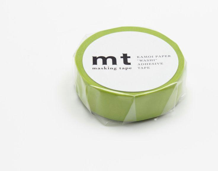 Masking Tape - Washi Tape mt Wakanae | Masking Tape Frisches Grün - ein Designerstück von krealiebst bei DaWanda