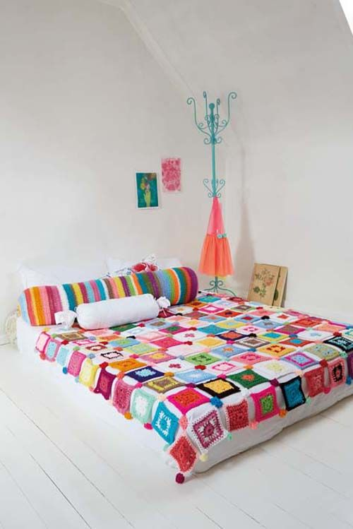 Crochet Super Quick Patchwork Blanket Pattern from Ideas Mag South Africa - Heart Handmade uk