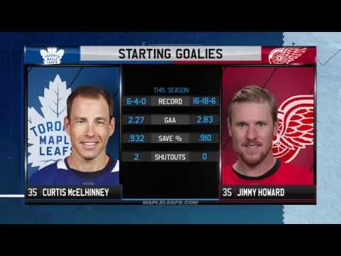 Molson Canadian Leafs Game Day: Toronto at Detroit - February 18, 2018