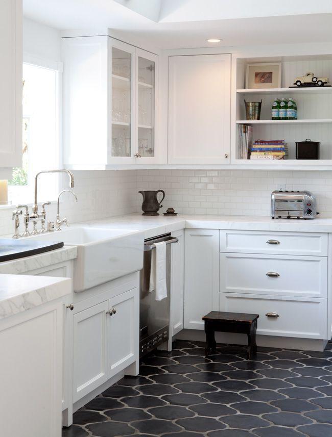 Best 25+ White Kitchen Floor Tiles Ideas On Pinterest   White Kitchen Floor,  Tile Floor Kitchen And Gray And White Kitchen